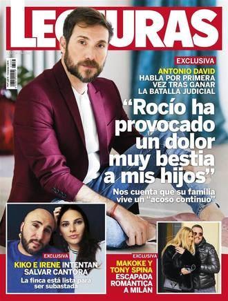 """LECTURAS Antonio David : """"Rocío Carrasco me ha querido arruinar la vida"""""""