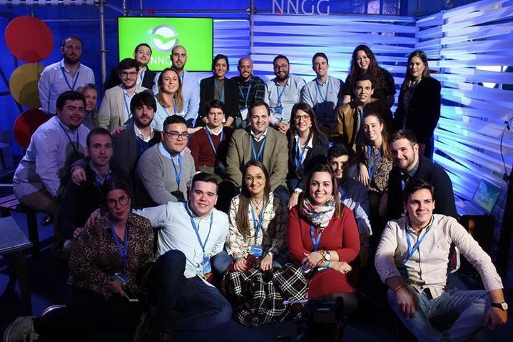 Gran representación de NNGG Castilla-La Mancha en la Convención Nacional del Partido Popular