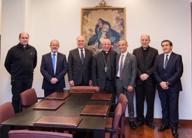La Fundación IberCaja renueva su colaboración con el Obispado de Sigüenza-Guadalajara para la conservación de su patrimonio histórico