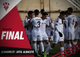 Rotunda victoria del Atlético Albacete en Almagro