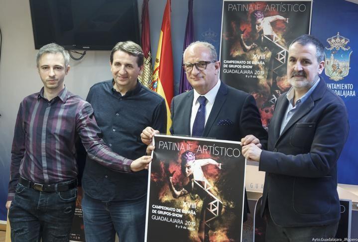 Guadalajara será la capital de Patinaje Grupos Show el 8 y 9 de marzo