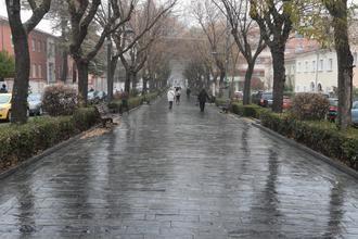 La borrasca Helena traerá este viernes a Guadalajara una bajada de las temperaturas y fuertes rachas de viento