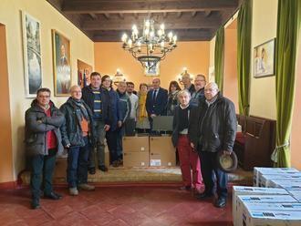 La Diputación continúa renovando los equipos informáticos de los ayuntamientos con una nueva entrega en la zona de Sigüenza
