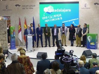 Extraordinaria acogida de la oferta turística de Guadalajara presentada en FITUR de la mano de la Diputación