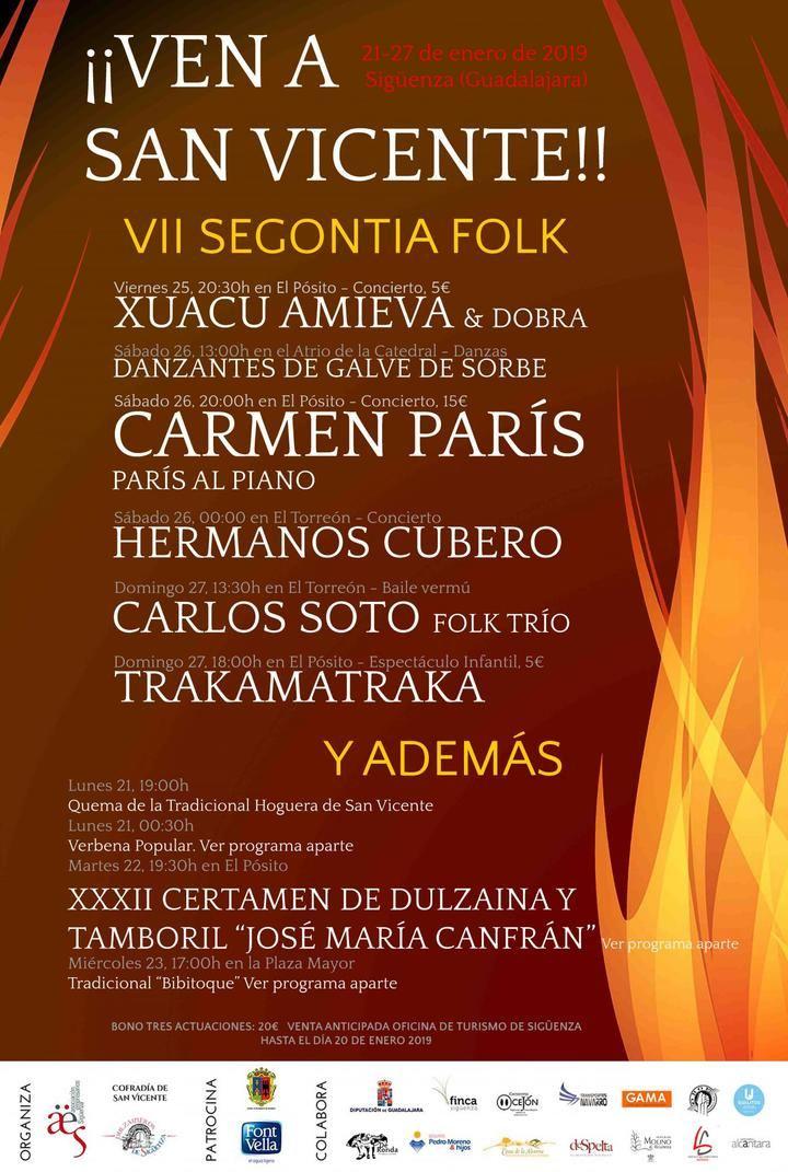 La llama de San Vicente volverá a iluminar Sigüenza de música y tradición