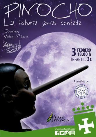 Teatro infantil a beneficio de la Asociación de Diabéticos de Guadalajara
