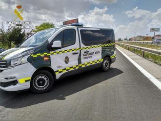 Un camionero circulaba por la A2 a la altura de Guadalajara superando en siete veces la tasa de alcoholemia
