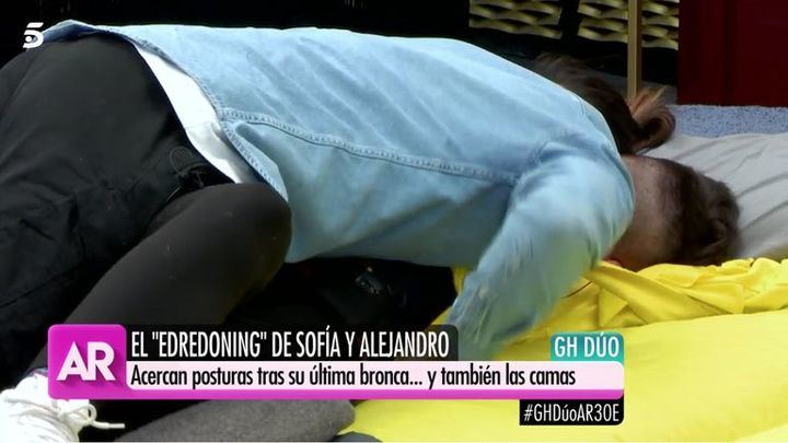 DIEZ MINUTOS El enfado de Ana Rosa Quintana al ver las imágenes del edredoning entre Suescun y Albalá