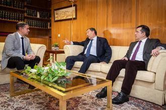 Despedida del presidente de la Audiencia Provincial de Toledo, Manuel Gutiérrez Sánchez- Caro