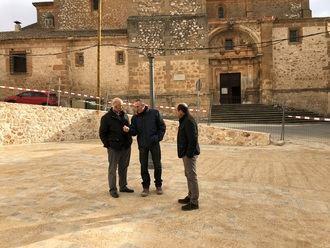 La Diputación finaliza las obras de remodelación de la Plaza Gutiérrez de Luna de Jadraque