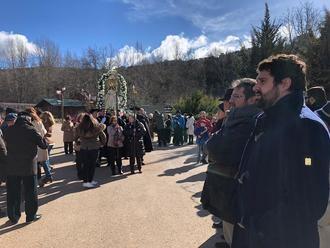 El diputado de Turismo asiste en Retiendas a la fiesta de la Botarga de la Candelaria