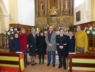 El presidente de la Diputación acompaña a los vecinos de Pioz en su fiesta de la Virgen de la Candelaria