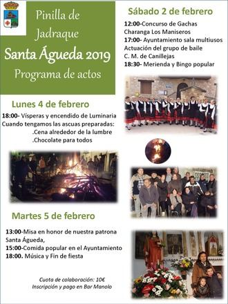 XIV Edición Concurso de Gachas Pinilla de Jadraque,