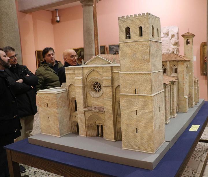 Inaugurada la segunda parte de Fortis Seguntina: 'La catedral gótica y su mistagogia'