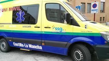Dos trabajadores de ambulancias de Guadalajara heridos tras la agresión sufrida por un joven en estado de embriaguez