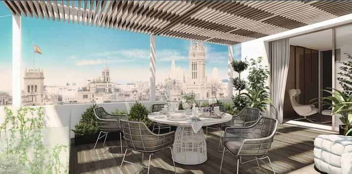 Si quiere un ático tríplex de 750 metros cuadrados en los Jerónimos de Madrid y tiene14,6 millones de euros, corra a comprárselo