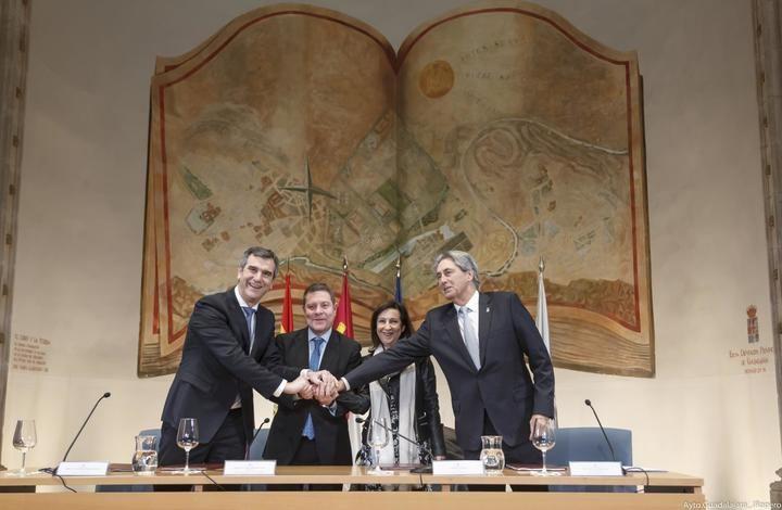 Firmado el convenio que garantiza el futuro del Campus Universitario de Guadalajara