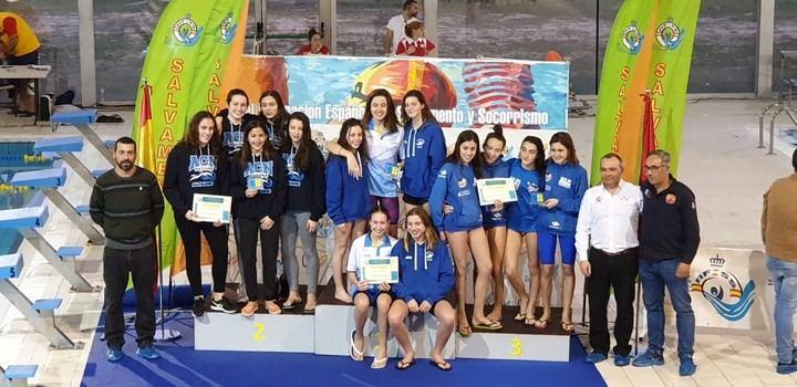 Deportistas de Guadalajara destacan en el Campeonato de España Infantil-Cadete de Salvamento y Socorrismo