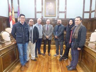 Una delegación mexicana se interesa por el sistema de grabación de plenos puesto en marcha por la Diputación de Guadalajara