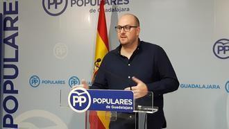 """Castillo: """"Los guadalajareños tenemos que movilizarnos contra la humillación de Sánchez a todos los españoles"""""""