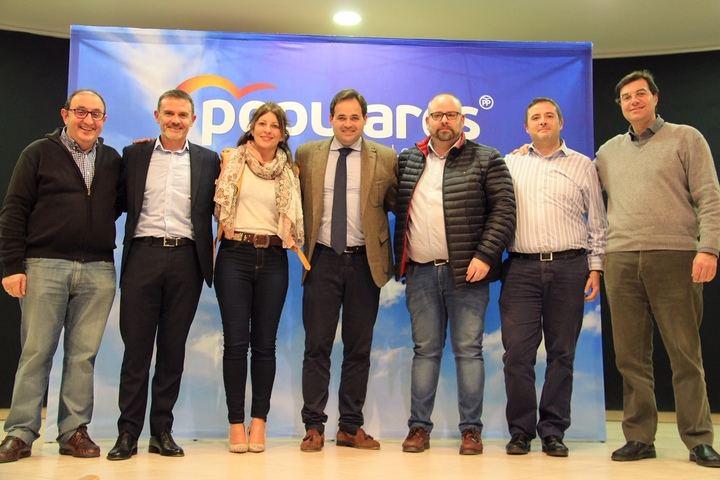 Paco Núñez señala que Juan Carlos Martín es el alcalde que necesita Alovera por su experiencia de gestión, eficacia y capacidad de trabajo