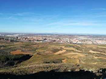 Vistas de Guadalajara ayer lunes Foto: Jacinto García Duro