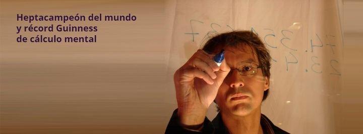 La Fundación IberCaja Guadalajara organiza el jueves 21 de febrero dos Encuentros con el gran calculista Alberto Coto
