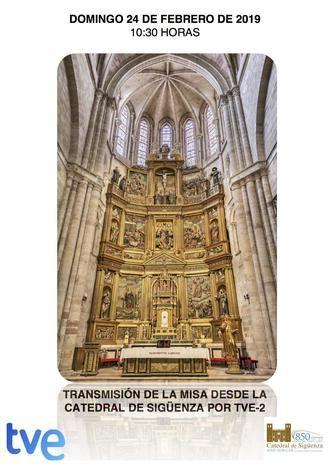 Este domingo por la mañana, La 2 retransmite la misa de 'El Día del Señor' desde la catedral de Sigüenza