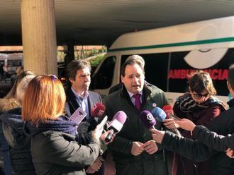 """Núñez pondrá fin al contrato """"precario"""" del transporte sanitario que sufren en Guadalalajara, Albacete y Ciudad Real"""