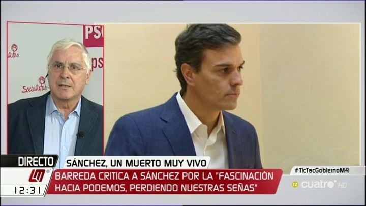 """Revancha y purga entre socialistas : Sacan a Barreda de la Diputación Permanente del Congreso tras criticar la figura del """"relator"""""""