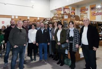 La Asociación de Apicultores de Guadalajara recibe la visita de un grupo de georgianos