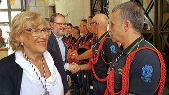 A Carmena le dimite la cúpula de los Bomberos de Madrid