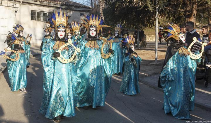 Colorido y diversión ayer en el Desfile de Carnaval de Guadalajara