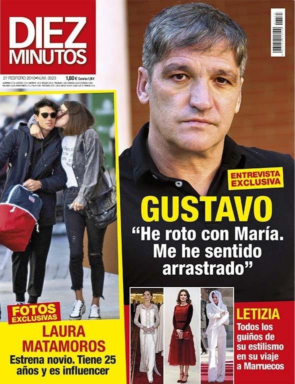 DIEZ MINUTOS María Patiño luce cuerpo en Fuerteventura olvidándose de Jesulín