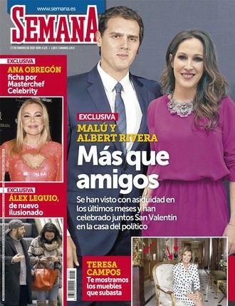 SEMANA Albert Rivera y Malú son
