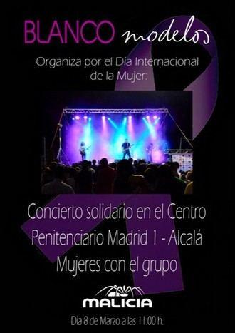 Blanco Modelos organiza un concierto solidario en el Centro Penitenciario Madrid 1-Alcalá mujeres