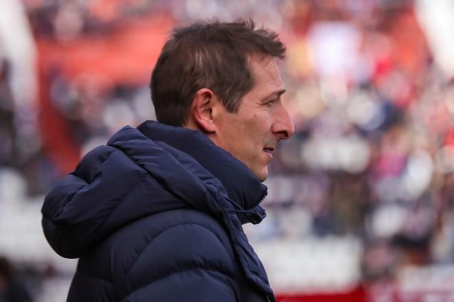 """Ramis: """"Estoy decepcionado con el penalti que nos pitan pero orgulloso de mis jugadores"""""""