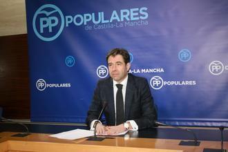 """Robisco indica que """"a Page no le interesa Castilla-La Mancha, tras decir Fernández Vaquero que están preparando su sucesión"""""""