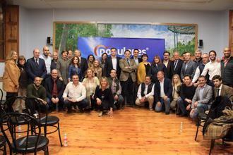 Paco Núñez y el PP provincial arropan a Jaime Celada en su presentación como candidato a la Alcaldía de Cabanillas