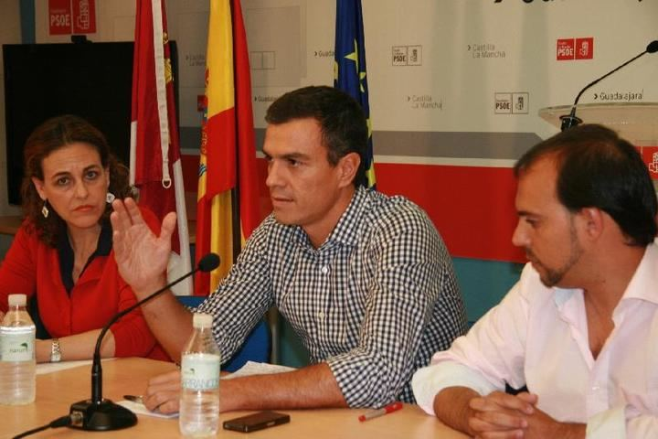 Varapalo de Pedro Sánchez a la militancia socialista de Guadalajara: Magdalena Valerio 1 - Pablo Bellido 0