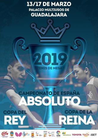 Este miércoles arranca en Guadalajara el Campeonato de España y Copas de SSMM los Reyes 2019 de Tenis de Mesa
