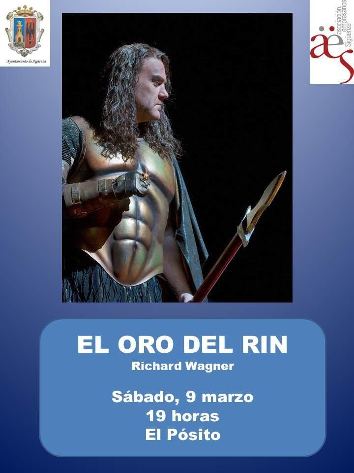 Este sábado, 'El oro del Rhin' de Richard Wagner en 'Vive la Opera en Sigüenza'