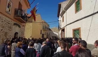 Mazuecos sale a la calle pidiendo medidas que acaben con la sucesión de actos vandálicos que están inquietando al pueblo