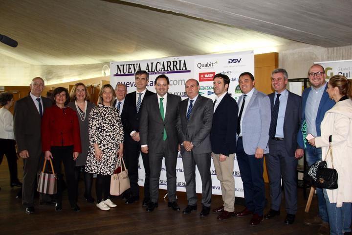 Paco Núñez asiste a la Gala Premios Populares Nueva Alcarria en Guadalajara
