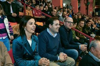 Paco Núñez en el partido entre el Liberbank Cuenca y el Quabit Guadalajara
