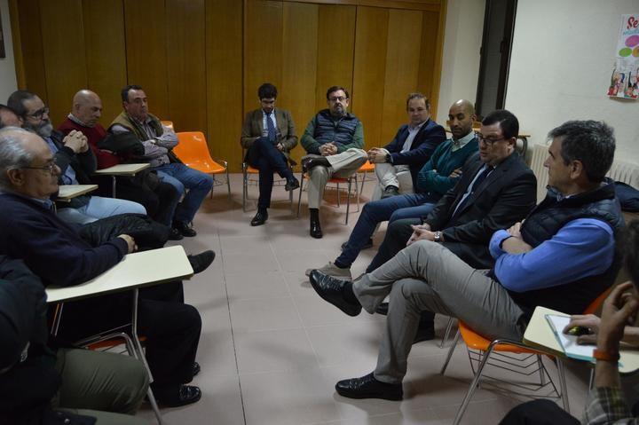 El alcalde de Guadalajara mantiene una reunión con las Cofradías y las Hermandades, previa a la Semana Santa