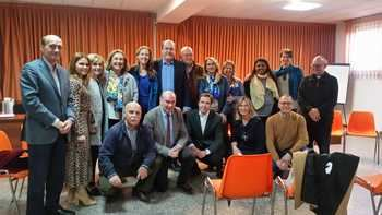 Visita realizada esta tarde a la Casa Nazaret de Guadalajara por la vicesecretaria general del Partido Popular, Marta González