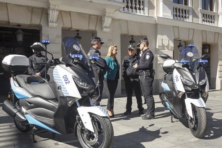 El Ayuntamiento de Guadalajara adquiere dos nuevas motocicletas para la Policía Local