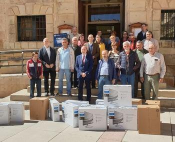 Diputación completa en Molina la entrega de 143 equipos informáticos a los ayuntamientos que lo han solicitado