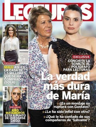 LECTURAS GH DÚO: Carolina Sobe reconoce que estuvo a punto de suicidarse